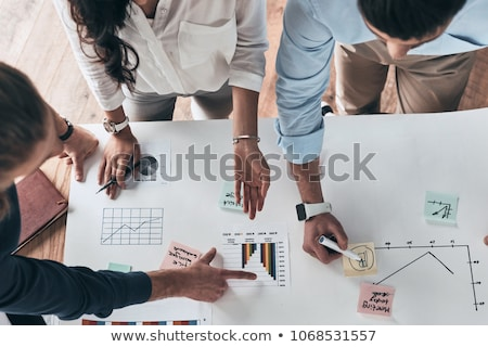 Going over the plans. stock photo © photography33