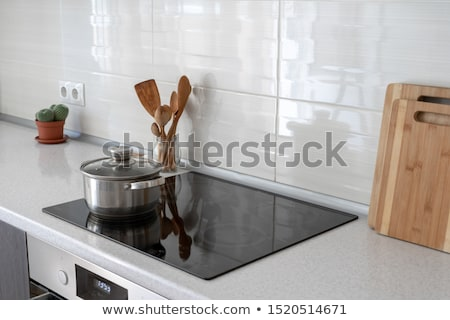 керамической · пусто · белый · шаблон · приготовления - Сток-фото © bsani