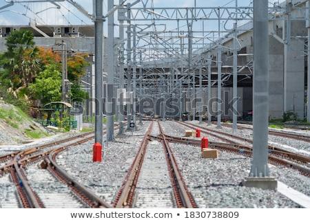 кабеля железная дорога небе гор веревку кабины Сток-фото © pumujcl