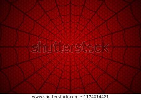 Rouge araignée silhouette horreur image Photo stock © cherju