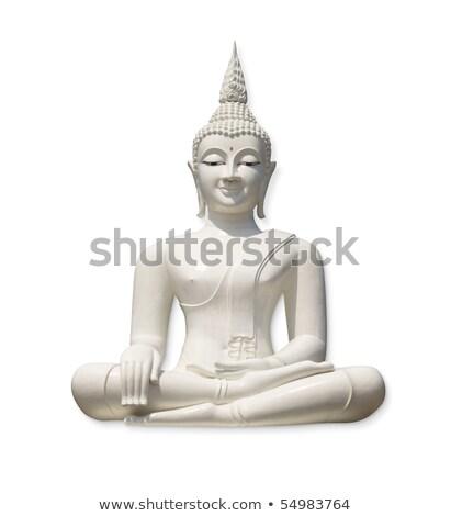 Isolé blanche sculpture religion fond paix Photo stock © Procy