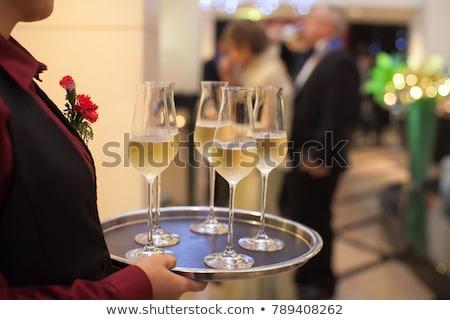 女性 · シャンパン · 女性 · ホーム - ストックフォト © photography33