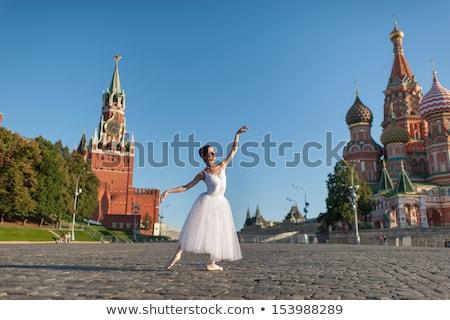Kremlin · towers · balerin · çerçeve · örnek · yalıtılmış - stok fotoğraf © dayzeren