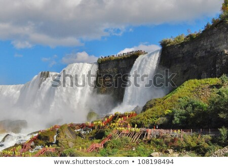 Niagara Falls Cave of Winds Stock photo © oliverjw