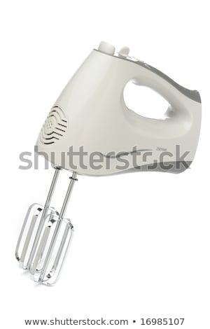 Eléctrica alimentos mezclador mi objetos huevo Foto stock © shutswis