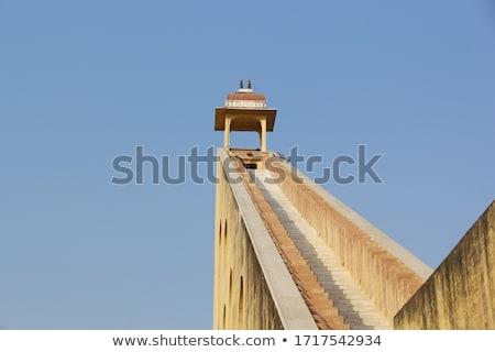 sundial in astrology observatory India Stock photo © Mikko
