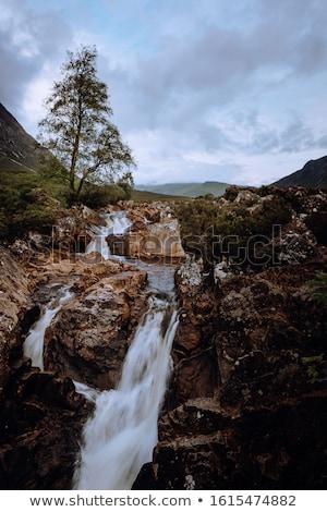 Waterfall in the Scotish Highlands Stock photo © ollietaylorphotograp