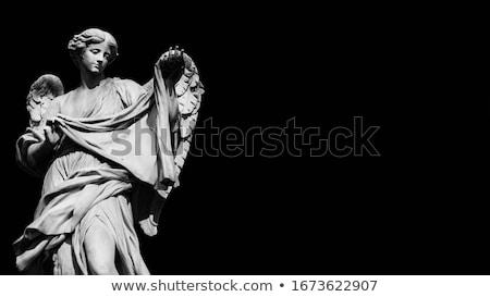 Barokowy posąg twarz kamień Europie rzeźba Zdjęcia stock © Sarkao