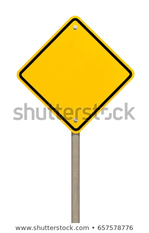 Attention road sign  Stock photo © luissantos84