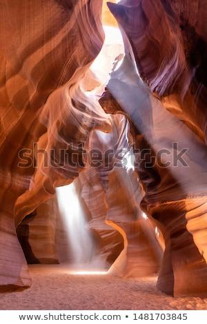 Kanyon dünya ünlü sayfa kabile Stok fotoğraf © meinzahn