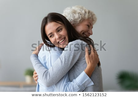 family concept two women Stock photo © unkreatives
