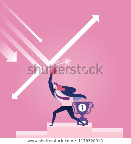 trend · grafiek · vector · business · netwerk - stockfoto © ratch0013