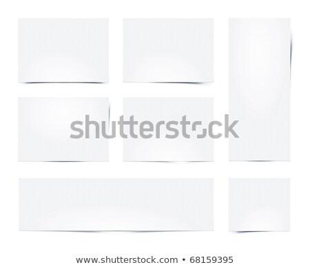 набор · изолированный · белый · синий · цвета - Сток-фото © romvo