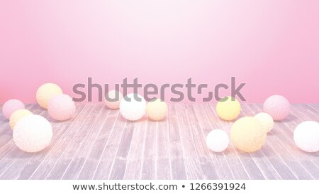 3d bubble ball in multiple bright colors on white Stock photo © Melvin07