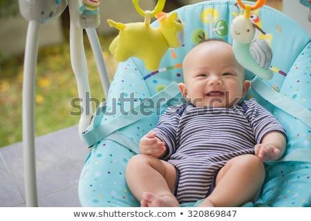 Stockfoto: Baby On Swing