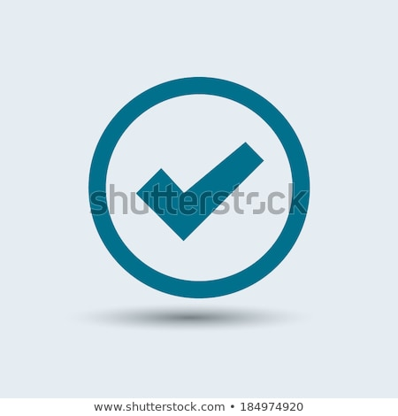 shiny checkbox icon Stock photo © Pinnacleanimates