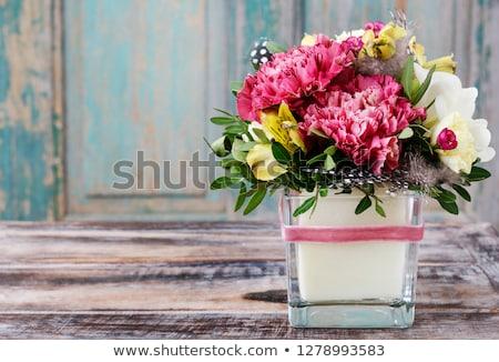 цветок · фотография · Purple · цветы · белый - Сток-фото © chris2766