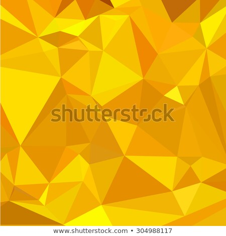 Gelb abstrakten niedrig Polygon Stil Illustration Stock foto © patrimonio