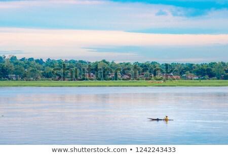 Central africaine république pays pavillon carte Photo stock © tony4urban