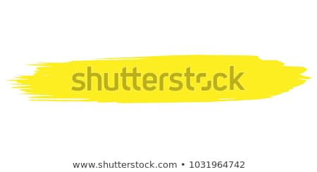 Paint Brush Yellow Vector Icon Design Stock photo © rizwanali3d