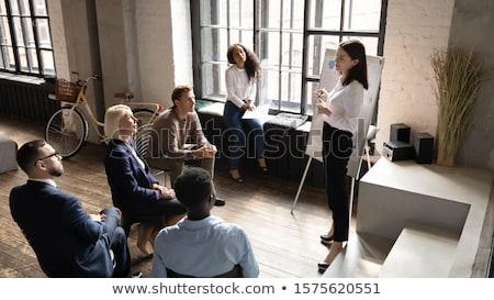 Alkalmazott irányítás megoldás munkaerő vezető vezetőség Stock fotó © Lightsource