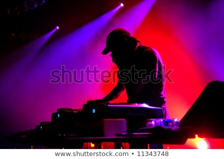 Man with hat in night club Stock photo © ssuaphoto
