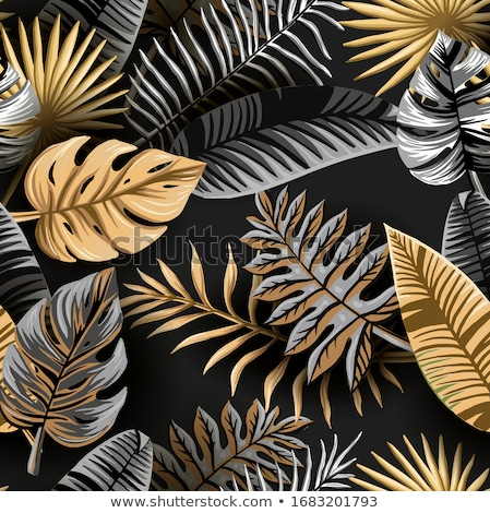 naadloos · goud · behang · damast - stockfoto © Greeek