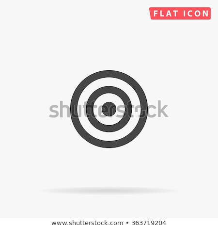 rounded icons with target buttons stock photo © bluering