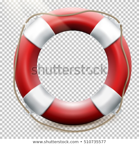 Life buoy isolated on transparent. EPS 10 Stock photo © beholdereye
