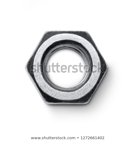 Bolt, nut and wrench Stock photo © Serg64