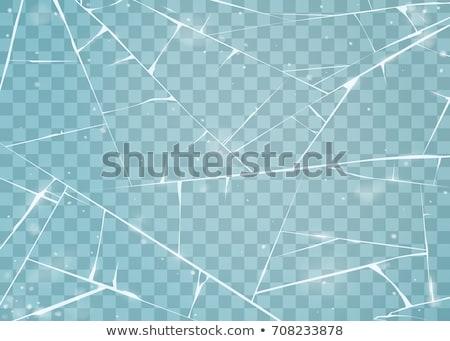 霜 透明な 表面 写真 凍結 ストックフォト © simazoran