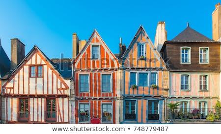 castle of Vannes in Brittany Stock photo © prill