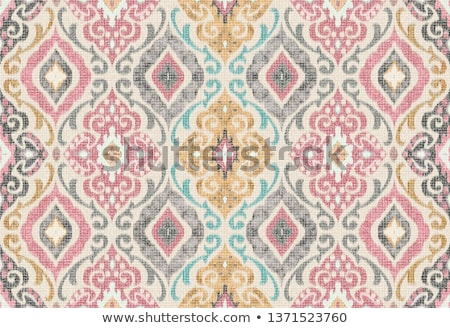 Abstract vintage seamless damask pattern Stock photo © fresh_5265954
