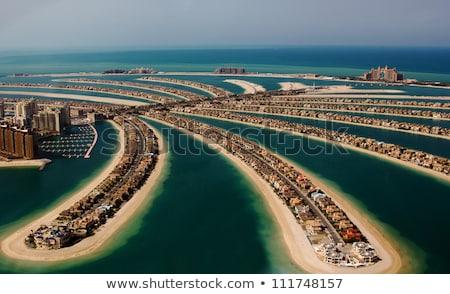 Birleşik Arap Emirlikleri toprak kırmızı bölge 3d illustration Stok fotoğraf © Harlekino