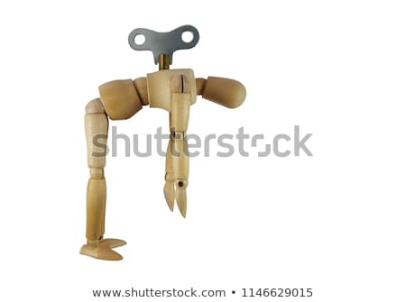 Businessman Wind Key Stock photo © Lightsource