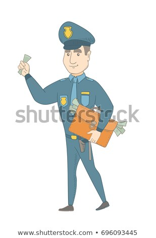 Policjant teczki pełny ceny młodych Zdjęcia stock © RAStudio