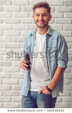 Teenage boy looking to camera Stock photo © IS2