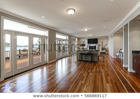 Keményfa padló textúra padló minta anyag Stock fotó © devon