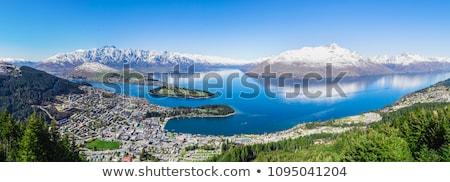 山 塔 ニュージーランド 風景 山 ストックフォト © backyardproductions