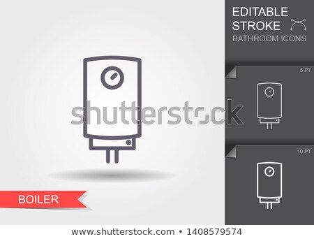 Gas boiler icon Stock photo © angelp