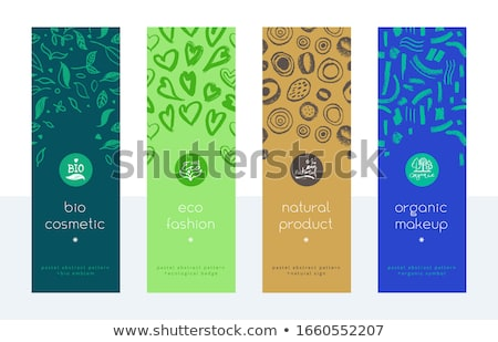 organic labels set stock photo © cammep