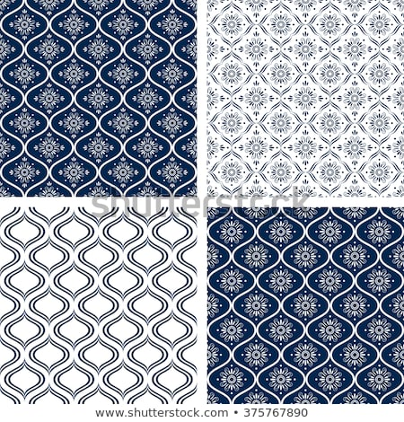 four vector moroccan seamless patterns Stock photo © glorcza