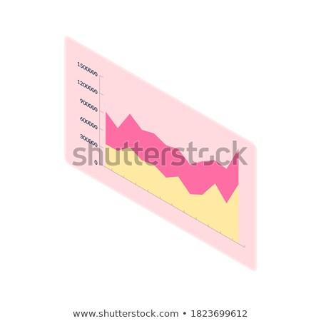 Graphique horizontal échelle rectangle vecteur Photo stock © robuart