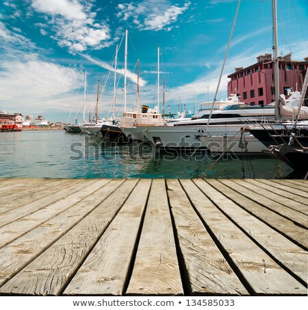 Dock in Genova, Italy Stock photo © Antonio-S