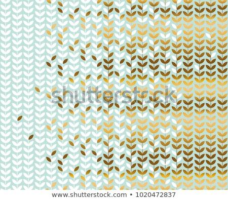 вектора пастельный цвета цветы листьев Сток-фото © ussr