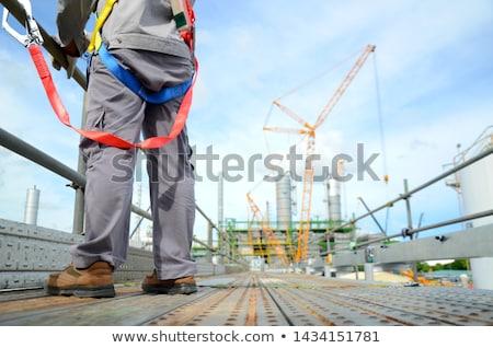 építkezés munkások zsaluzás épület munka csoport Stock fotó © deyangeorgiev