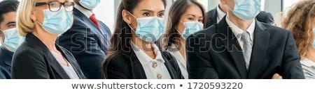 Overcoming crisis with business people Stock photo © 4designersart