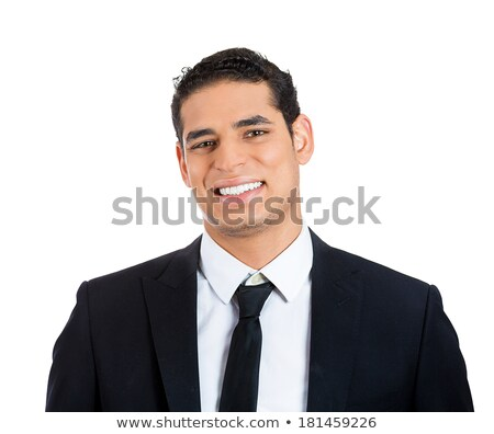 Souriant asian Homme service clients représentant heureux Photo stock © Qingwa