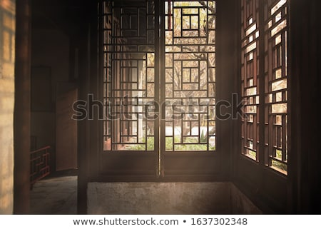 China Gate, traditional Chinese ancient building Stock photo © bbbar