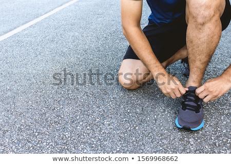 Running sportman  Stock photo © grafvision